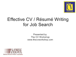 Building A Resume Tips New Effective CV Resume Writing