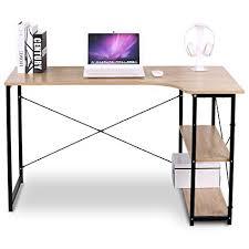 home office desks modern. WOLTU L-Shaped Corner Computer Office Desk Modern PC Laptop Workstation  Table Home Home Office Desks Modern S