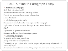 review for the final exam ppt video online  carl outline 5 paragraph essay