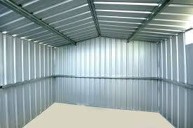diy sheet metal shed add sliding doors and small roof windows where you want them a painting sheet metal shed