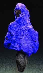 Left Fibrous Sugilite Draping Manganese Ore Matrix 6 4 Cm