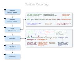 Custom Reports Model Process Flow