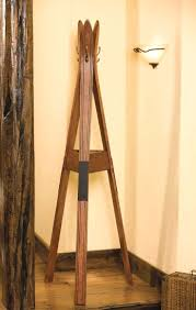 Vintage Ski Coat Rack rack Ski Coat Rack Made Of Old Vintage Skis Use Them To Hang Your 11