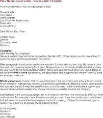 New Grad Cover Letter Nursing Nursing Resume Cover Letter Template