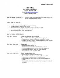 part time resume objective - Agi.mapeadosencolombia.co