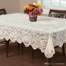 on fl elegant lace tablecloths round lace table cover white or ivory decoration for table hot deisng table linens for wedding extra long