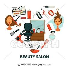 Search and use 100s of clipart salon clip arts and images all free! Clip Art Vector Hair Beauty Salon Vector Hairdresser Parlor Heart Poster Of Hairdressing And Dyeing Equipment Stock Eps Gg100947456 Gograph