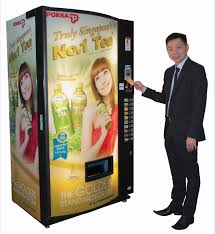 Card Vending Machine Singapore New Pokka Rolls Out First Cashless Vending Machine At Community Centres