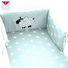 the little green sheep organic crib bedding set lamb nursery lambs ivy love baby by sweet designs