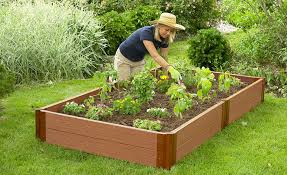 how to build raised garden. Composite Timber Garden Beds How To Build Raised