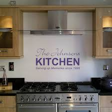 Wall Decoration For Kitchen Personalised Kitchen Wall Sticker By Nutmeg Notonthehighstreetcom
