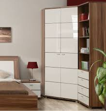 bedroom corner furniture. corner wardrobe white gloss bedroom furniture for the spare r