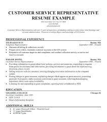 customer service representative sample resume brilliant ideas of customer  service representative sample resume for free customer