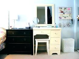 White Vanity Desk White Bedroom Vanity With Lights White Vanity Desk ...