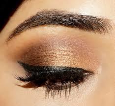gold smoky eye indian festive makeup