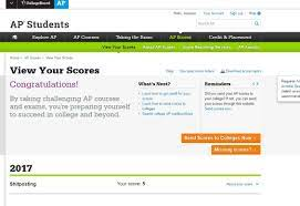 EARLY AP SCORES?!?!: APStudents