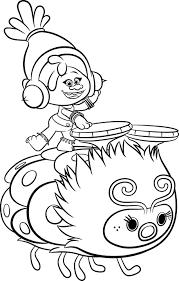 Trolls Poppy Kleurplaat Kids N Fun Kleurplaat Trolls Poppy