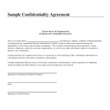 Simple Nda Template Free Non Disclosure Agreement Stard Form Contract Basic Nda Template Free