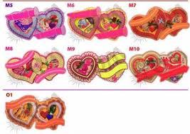 Multicolor Thermocol Wedding Name Board Kadar Bhai Haar