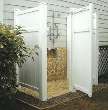 outdoor shower enclosure pvc outside dog