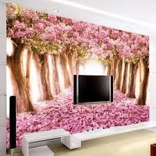 Pink And White Wallpaper For A Bedroom Pink Floral Wallpaper Online Shopping The World Largest Pink