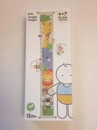Plantoys Jungle Height Chart Plan Toys 5191 Jungle Height Growth Chart Ruler Jungle Theme