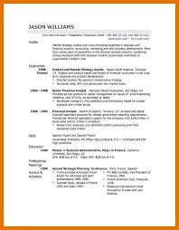 Profile Example Resume 9 10 Profile Statements On Resumes Juliasrestaurantnj Com