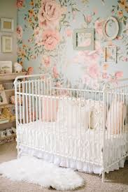 Tour the Sweetest Vintage Nursery for a Baby Girl | Iron crib ...
