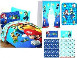 super mario bed sets comforter bedding set details about kids boys in a bag target odyssey