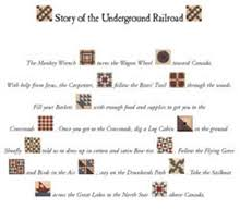 Underground Railroad Quilt Patterns Extraordinary Underground Railroad Label Companion Kit Quilt In A Day Fusible