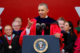 matt damon s mit commencement speech watch com obama delivers commencement address at rutgers university