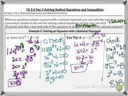5 4b solving radical equations part 1