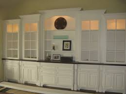 Living Room Buffet Cabinet Beautiful Built Ins For The Dining Room Use Glass Shelves Home