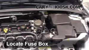 blown fuse check 2012 2016 ford focus 2013 ford focus se 2 0l 4 locate engine fuse box and remove cover