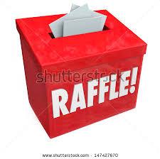Raffle Draw Application Dropping Tickets Inside Raffle Box 5050 Stock Illustration 147427670