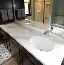 Quartz Bathroom Countertop White Quartz Countertops Creative Surfaces Blog