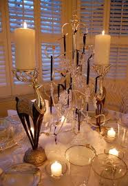 Ornament Display Stand Canada Enchanting Winter Table Setting With Swarovski Crystal Ornament Centerpiece