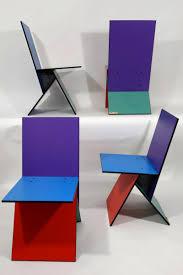 vintage vilbert chairs by verner panton for ikea 1993 set of 4