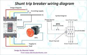 double pole breaker wiring breaker box wiring diagram and electric Basic Electrical Wiring Breaker Box double pole breaker wiring shunt trip breaker wiring diagram explanation circuit breaker shunt trip wiring diagram double pole