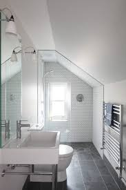 Transitional bathroom ideas Bath London Garage Attic Conversion Transitional Bathroom With X6 Bathroom Ideas And Stone Cleaners Tduniversecom London Garage Attic Conversion Transitional Bathroom With X6