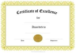 Employee Of The Year Certificate Template Free Free Formal Award Certificate Templates Customize Online