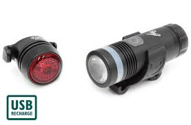 Bike Lights Evans Fwe Rechargeable Light Set 300 30 Lumen