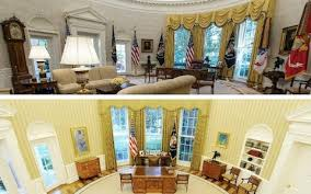 obama oval office. donald trumpu0027s oval office renovation leads washington on a game of spot the difference obama