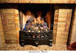 gas fireplace coals a gas coal effect fire burning in a grate stock image gas fireplace