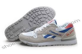 reebok 6000 gl. reebok gl6000 mens classic running white grey blue red   buy gl 6000 - i
