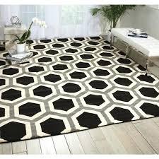nova black white geometric rug and area rugs black and white pattern rug geometric
