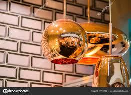Moderne Schlanke Spiegel Oval Kupfer Kronleuchter Blase