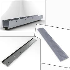 36 in x 84 in gray complete weather strip package for doors