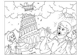 Small Picture Coloring page tower of Babel img 25960