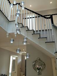well known stairway chandeliers in chandelier chandeliers extra long chandelier lighting long gallery